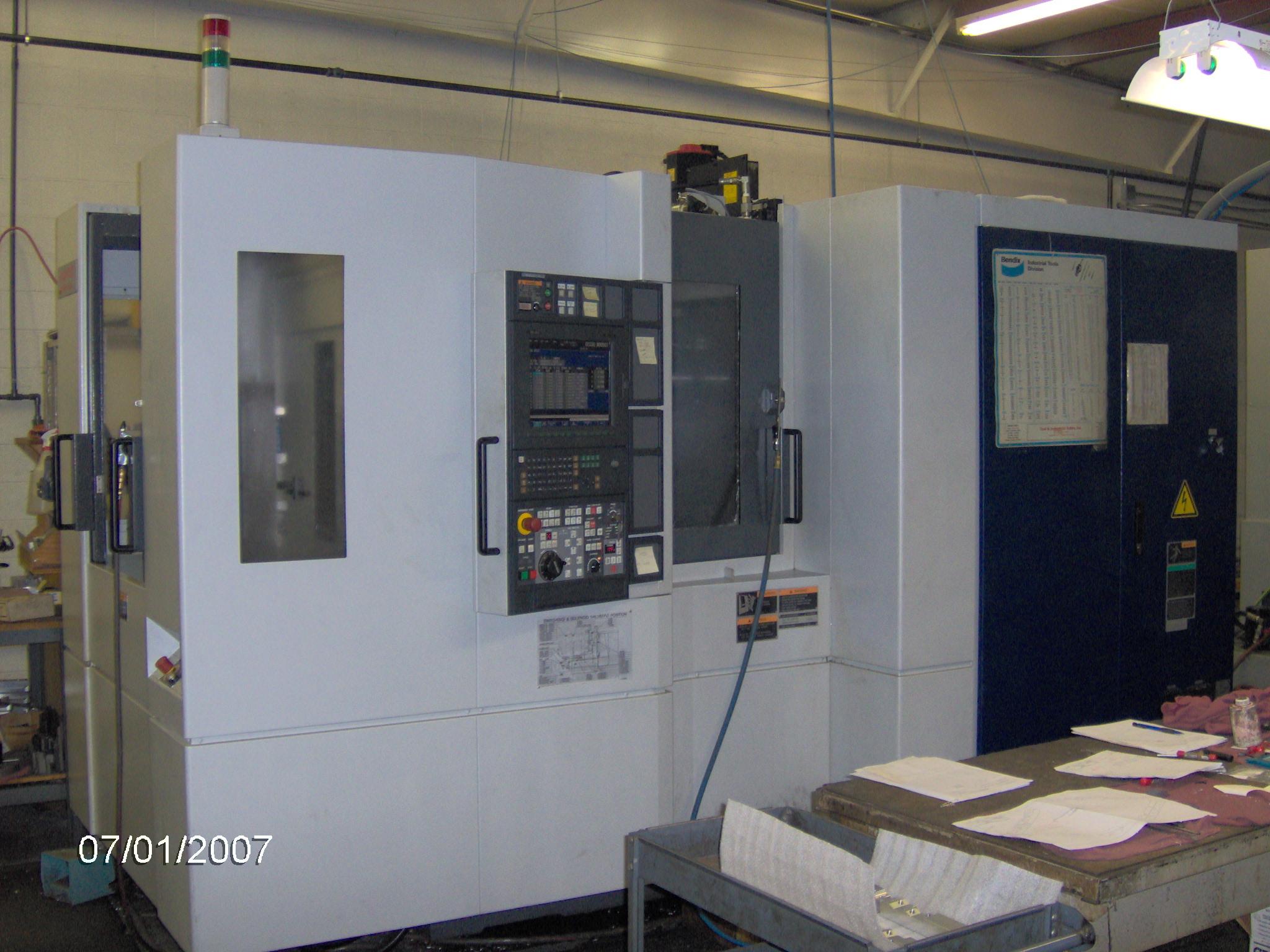 Mori Seiki Nh4000 S3 Manufacturing Inc As9100